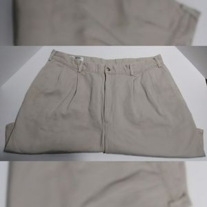 Brooks Brothers Tan Flat Front Shorts Size 36
